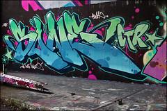 Sone (Alex Ellison) Tags: northlondon mhb urban graffiti graff halloffame hof ctr cityrollers sone boobs