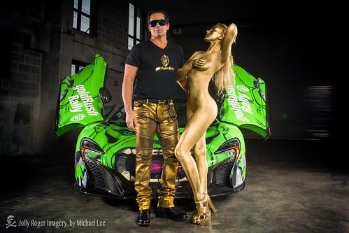 Alan Wilzig Clem Lapeyre Gold Rush Rally Hulk Mclaren