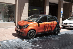 Smart (Jusotil_1943) Tags: adoquines coches autos cars redcars