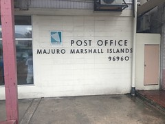 The main and one and only post office in Majuro.