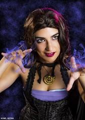 Casting a Spell... (Ring of Fire Hot Sauce 1) Tags: vanessa portrait cosplay ursula littlemermaid wondercon nicolequinn