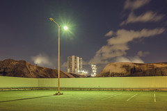 botlek (Danny Holleman) Tags: industry night dark parking fujifilm industrie urbanlandscape rozenburg botlek dannyholleman