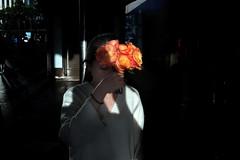 . (ferriswhiskey) Tags: street shadow flower color colour 35mm sydney australian streetphotography circularquay fujifilm streetphoto colourstreet ferriswhiskey