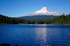 Mount Hood (fat-free) Tags: mt mount hood trilliumlake oregon snow peak