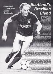 Scotland vs Holland - 1982 - Page 13 (The Sky Strikers) Tags: scotland holland netherlands official programme hampden park glasgow 60p international friendly