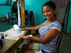 Havana. Cuba (H.L.Tam) Tags: cuban photodocumentary hairsalon street cubanfaces streetphotography harbana sketchbook iphone6s cubasketchbook documentary havana fashion habanavieja cuba nailsalon nailcare iphone iphoneography