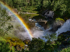 """Rainbow over the Cascades • <a style=""""font-size:0.8em;"""" href=""""http://www.flickr.com/photos/7605906@N04/28587296942/"""" target=""""_blank"""">View on Flickr</a>"""