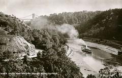 River Avon and Bridge Valley Road (Boxbrownie3) Tags: cliftonsuspensionbridge paddlesteamer campbells whitefunnelfleet bridgevalleyroad bristol avon avongorge