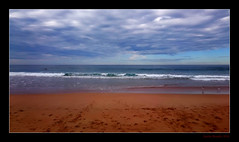 To The Sea (Seeing Things My Way...) Tags: sea seaside beach coast shore shoreline sky waves breakers warriewood nsw australia clouds horizon sand ocean water