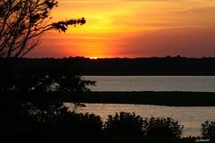 """Goodnight from Edwin B. Forsythe National Wildlife Refuge"" (jackhawk9) Tags: goodnightfromedwinbforsythenationalwildliferefuge jackhawk9 newjersey southjersey canon sunset nature"