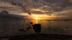 Sunset (JH') Tags: nikon nikond5300 nature d5300 summer sky sigma sun sunset water ocean coast rocks 2016 landscape 1020 clouds heaven