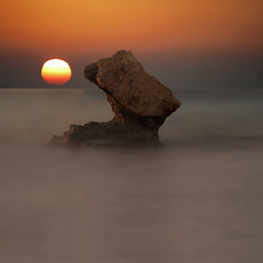 The red head from Rhodes (kenny barker) Tags: rhodes greece longexposure ixia sunset