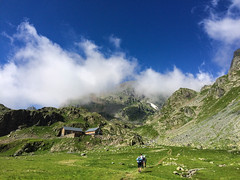 Belledonne () Tags: belledonne isre bivouac hiking lac montagne mountain clouds reflects nature outdoor france alps