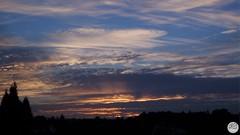 another beautiful sunset (dominik.gaida) Tags: sunset sky clouds trees