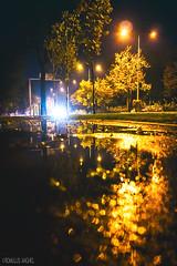 rainy night / © Romulus Anghel (Romulus Anghel) Tags: bucharest bucuresti buildings romania night nori city clouds cityscape canon 70d tokina travel trees urban photography earth wideangle weather autumn