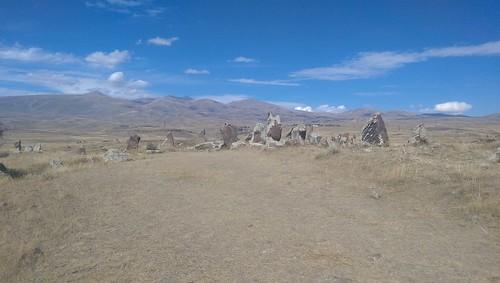 """Stanowisko archeologiczne Zorac Keraw koło Sisiam - """"armeńskie Stonehange"""""""