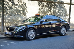 Paris Taxi Mercedes W222 S-Klasse 12.9.2016 3736 (orangevolvobusdriver4u) Tags: 2016 archiv2016 france frankreich paris taxi teksi parisienne taxiparisienne mercedes mercedesbenz w222 mercedesbenzw222 sklasse sclass