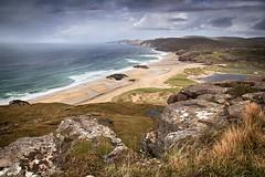 Wild beach (OutdoorMonkey) Tags: beach bay coast coastal seaside seashore landscape seascape scotland sutherland sandwoodbay wild wilderness remote scenery view