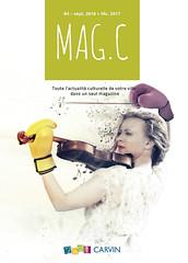 Mag.C - numro 3 - sept 2016 > fv. 2017 (Mairie de Carvin) Tags: culture magazine magc