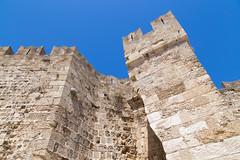 Mura dell'antica fortezza di Rodi - Rodos (claudio g) Tags: rodi rodos palazzo mura mare sea summer estate spugne sponge yoga