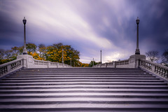 stairs to heavens (Zouhair Lhaloui) Tags: longexposure cloud leefilter bigstopper clouds chigago urban city architecture building light zouhairlhaloui zlphotography 2016 nikond810 1635mmf4 sale usa illinois midwest ville