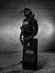 Save (faladdin) Tags: ifttt 500px street night light urban beautiful art monochrome black dark noir protect olympus weapon elinchrom swat photography omd