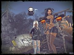 Siri and Alx (alexandra wardark) Tags: subtlefogvogue halloween sl secondlife saariysqualitypictures