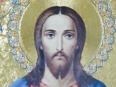 Detail Painting, Biserica SF. Nicolae Manea Brutaru (Miranda Ruiter) Tags: iconography icons religion church orthodox jesuschrist bucarest romania painting detail