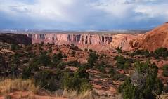 Distant canyon... 20160923_6030 (listorama) Tags: usa utah canyonlandsnationalpark steermesa canyon