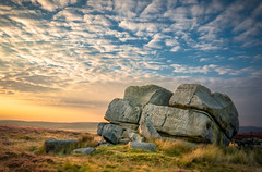 Sunset by Hitching Stone [re-edited] (Mariusz Talarek) Tags: airedale d90 dslr england hitchingstone keighley keighleymoor mtphotography nikon nikond90 uk westyorkshire yorkshire addicted2walking countryside hiking landscape landscapephoto landscapephotographer landscapephotography nature naturelover naturephoto naturephotographer naturephotography outdoor outdoorphoto outdoorphotographer outdoorphotography outdoors rambling trekking walking