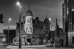 The Londonderry, Sunderland (DM Allan) Tags: londonderry keelsquare sunderland wearside night evening monochrome pub edwardian listed