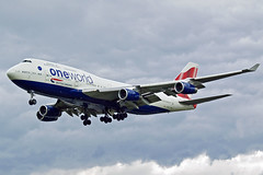 British Airways Boeing 747 G-CIVK (Sam Pedley) Tags: 747 boeing britishairways gcivk b744 747400 boeing747 heathrow heathrowairport ba baw lhr egll ba156 myrtleavenue jumbojet oneworld
