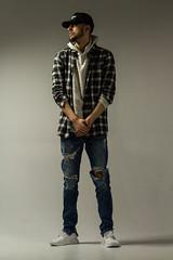 IMG_0869 (sabrinafvholder) Tags: man male hat hipster studio portrait young givenchy sabrinavazholder