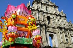 St. Paul Cathedral, Macau at New Year (-WANLOP) Tags: travel sky architecture hongkong bright outdoor sigma macau ccd merrill foveon 30mm dp2m dp2merrill