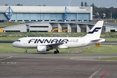 OH-LVI (IndiaEcho Photography) Tags: netherlands amsterdam airport aircraft finnair airbus ams airfield eham a319 ohlvi