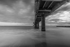 Baltic bridge (AngelikaBentin) Tags: travel bridge sea fineart baltic heiligendamm bentin