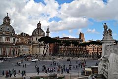 Rome. (Ada Romare) Tags: roma via vista sight della dei patria fori imperiali altare