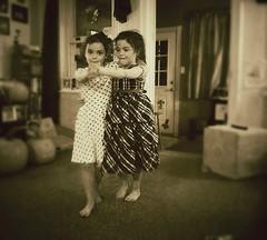 Twin Tango (Gwynedd) Tags: dance twins dancers retro grandchildren nostalgia tango holidaysathome
