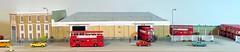 Barking LT garage (kingsway john) Tags: barkingbusgarage bk barking londontransport rt model diorama 176 scale card kingsway models efe building kit oo gauge londontransportmodel bus miniature