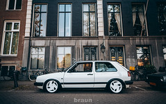 Volkswagen Golf MkII - Nothelle Classic (Rick Bruinsma) Tags: city classic golf volkswagen perfect shoot static works alfa braun stance oem ronal nothelle perfectstance stanced