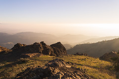 Aglow (zh3nya) Tags: california sunset northerncalifornia outdoors haze rocks view hiking kitlens bayarea vista layers eastbay norcal mtdiablo goldenhour mountdiablo outcrops mountdiablostatepark 1855mmf3556 d3100