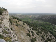 View toward Ucero, Cañón del Río Lobos, Spain (Paul McClure DC) Tags: españa castle spain scenery geology castile castillayleón ucero cañóndelríolobos june2014
