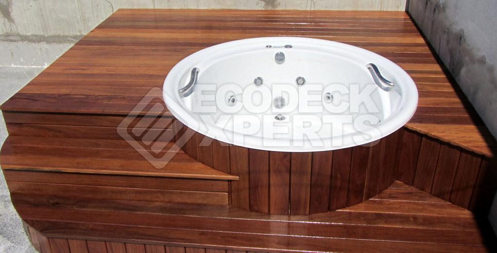 Deck Hidromassagem Redonda - 005