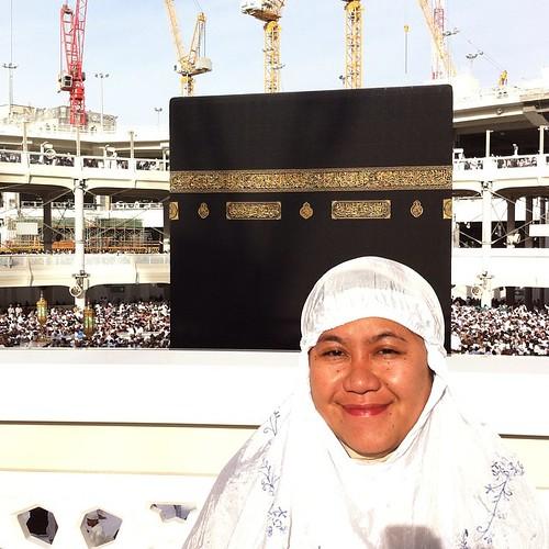 Hellow #kabah #masjidilharam #uae #umrah #holyland #mecca #alharam #today #afternoon #loveit