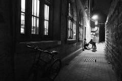 Snapshot_0496 (Huang Qing) Tags: china street blackandwhite bw monochrome night candid 28mm grain streetphotography snap gr ricoh highiso