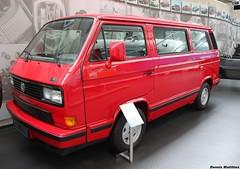 The last Boxer Bulli (The Rubberbandman) Tags: red white bus vw last truck germany volkswagen samba redwhite german micro type vehicle t3 van bully limited edition combi kombi transporter bulli typ type2 multivan microvan typ2