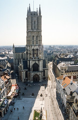 St.Baafskathedraal, Gent (jacqueline.poggi) Tags: architecture cathedral belgique gothic cathdrale ghent gent gothique gand flandres oostvlaanderen gothiqueflamboyant stbaafskathedraal