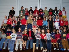 At the Game (larry_boy17) Tags: school baby sports fashion altered sweater high doll dolls babies ooak military ken barbie skipper collection jeans teen blonde ponytail bleachers avenue rare takara fa dimitri repainted