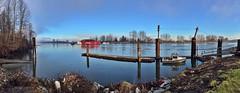 Barnston Island (Stev) Tags: panorama boats bc photostream barnstonisland iphone6