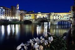 Firenze, Ponte Vecchio (MaOrI1563) Tags: italy river florence italia fiume tuscany firenze arno toscana pontevecchio oldbridge firenzebynight florencebynight firenzedinotte pontevecchiobynight flickrbronzetrophygroup pontevecchiodinotte maori1563